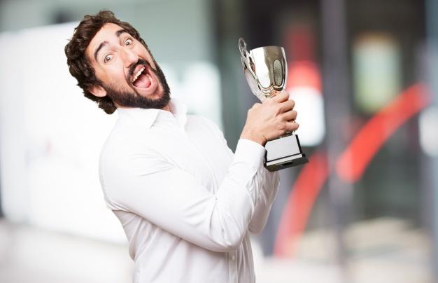 glad vinder