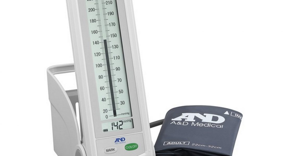 Blodtryksmåler med søjle